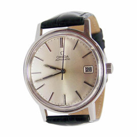Omega Stainless Steel Automatic Vintage 35mm Mens Watch