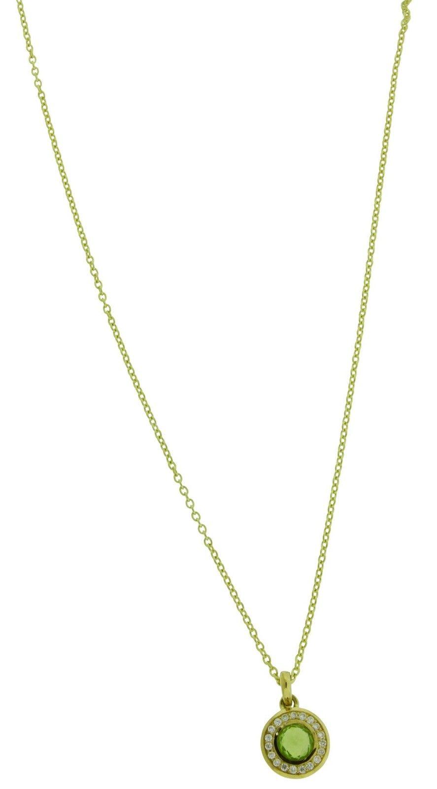 "Image of ""Ippolita 18K Yellow Gold Diamonds & Peridot Mini Lollipop Pendant"""