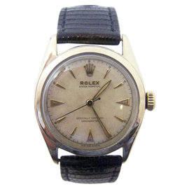 Rolex Oyster Perpetual 6084 Chronometer Automatic 33.5mm Mens Watch c.1950s