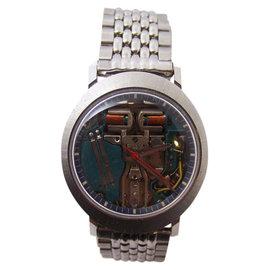 Bulova Accutron Stainless Steel Quartz 33.7mm Mens Watch Year 1971