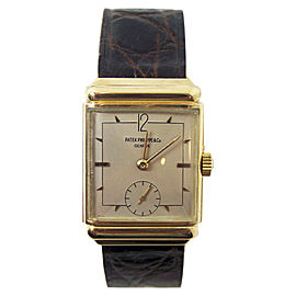 Patek Philippe 18K Yellow Gold Vintage 24.7mm Mens Watch 1940