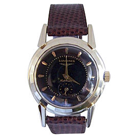 Longines 2164-2 14K Yellow Gold Automatic Vintage 33mm Mens Watch