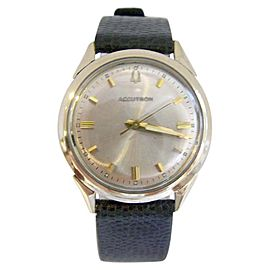 Bulova Accutron 10K Yellow Gold Filled Vintage 34mm Mens Watch Year 1965
