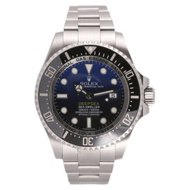 Rolex Deep Sea-Dweller 116660 Stainless Steel Blue Dial Automatic 44mm Mens Watch