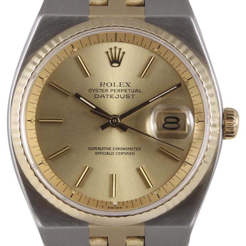 """Image of """"Rolex Datejust 1630 Stainless Steel/14K Yellow Gold Champagne Dial"""""""