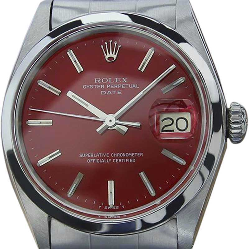 "Image of ""Rolex Oyster Date 1500 Stainless Steel Automatic 35mm Mens Watch 1972"""