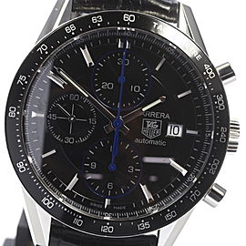 Tag Heuer Carrera CV201S Stainless Steel Automatic 40mm Mens Watch