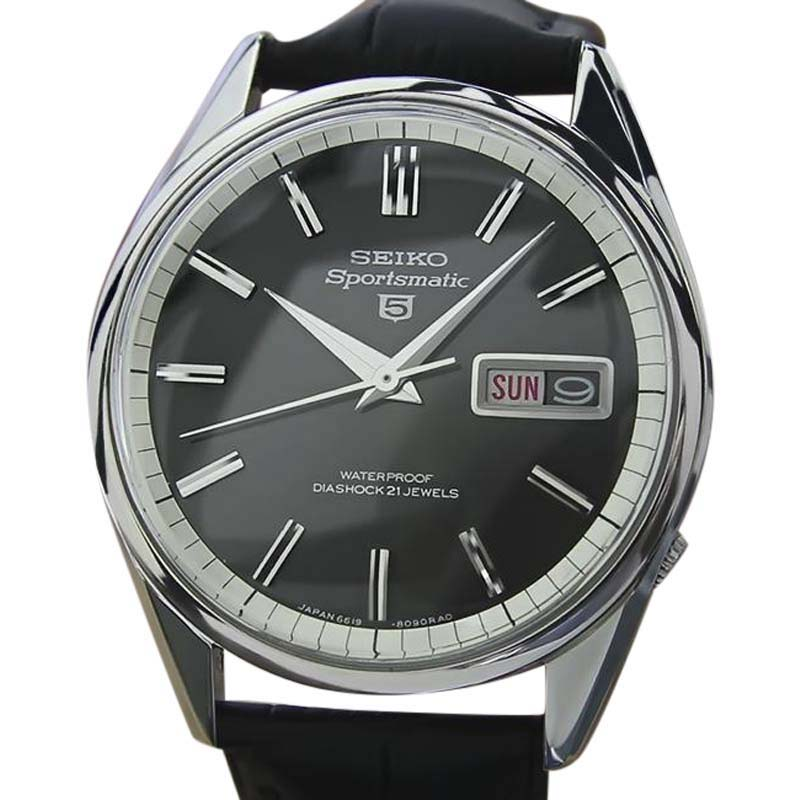 "Image of ""Seiko Sportsmatic Stainless Steel Automatic 36.5mm Mens Watch 1970s"""