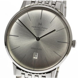 Hamilton Intra-Matic H387550 Stainless Steel Automatic 42mm Mens Watch