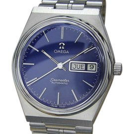 Omega Seamaster Stainless Steel Automatic 35.5mm Mens Watch 1970s