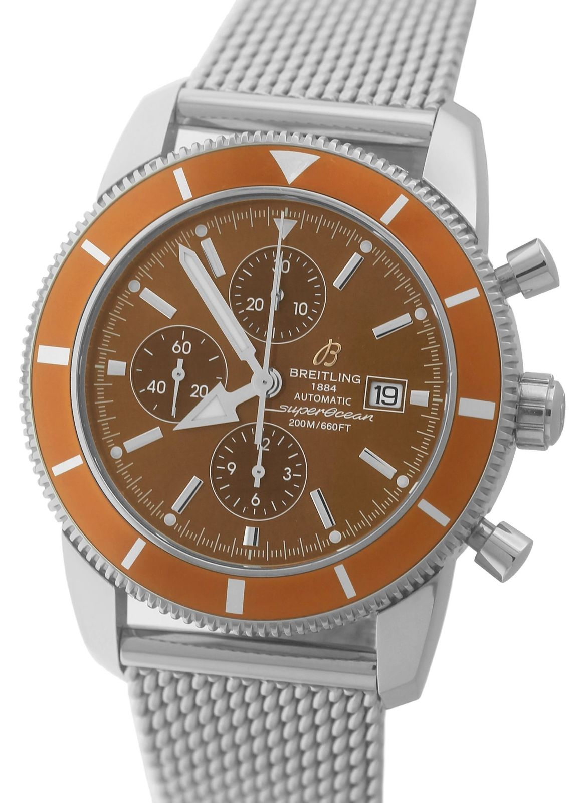 """Image of """"Breitling Superocean Heritage Chronograph A13320 Stainless Steel 46mm"""""""