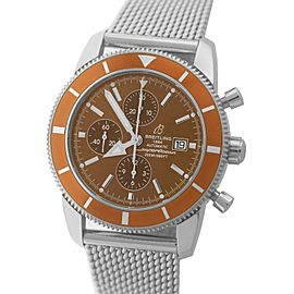Breitling Superocean Heritage Chronograph A13320 Stainless Steel 46mm Mens Watch