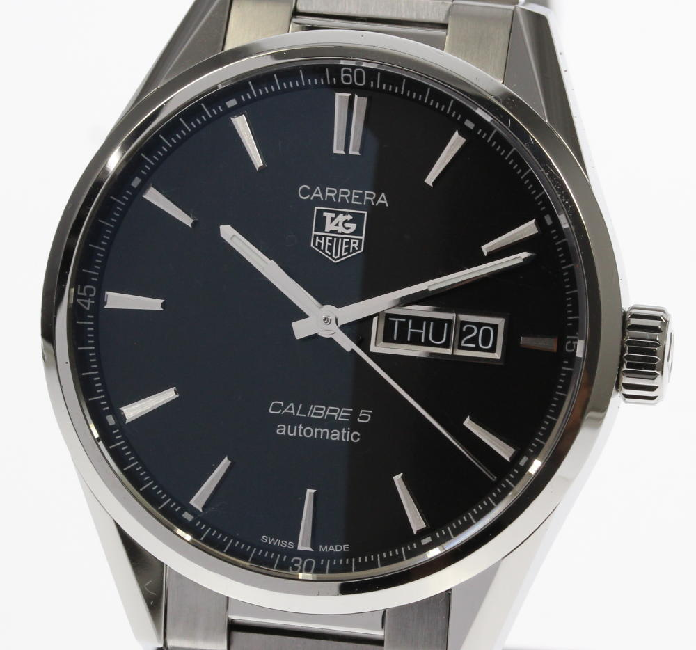 "Image of ""Tag Heuer Carrera War201A.ba0723 Stainless Steel Automatic 41mm Mens"""