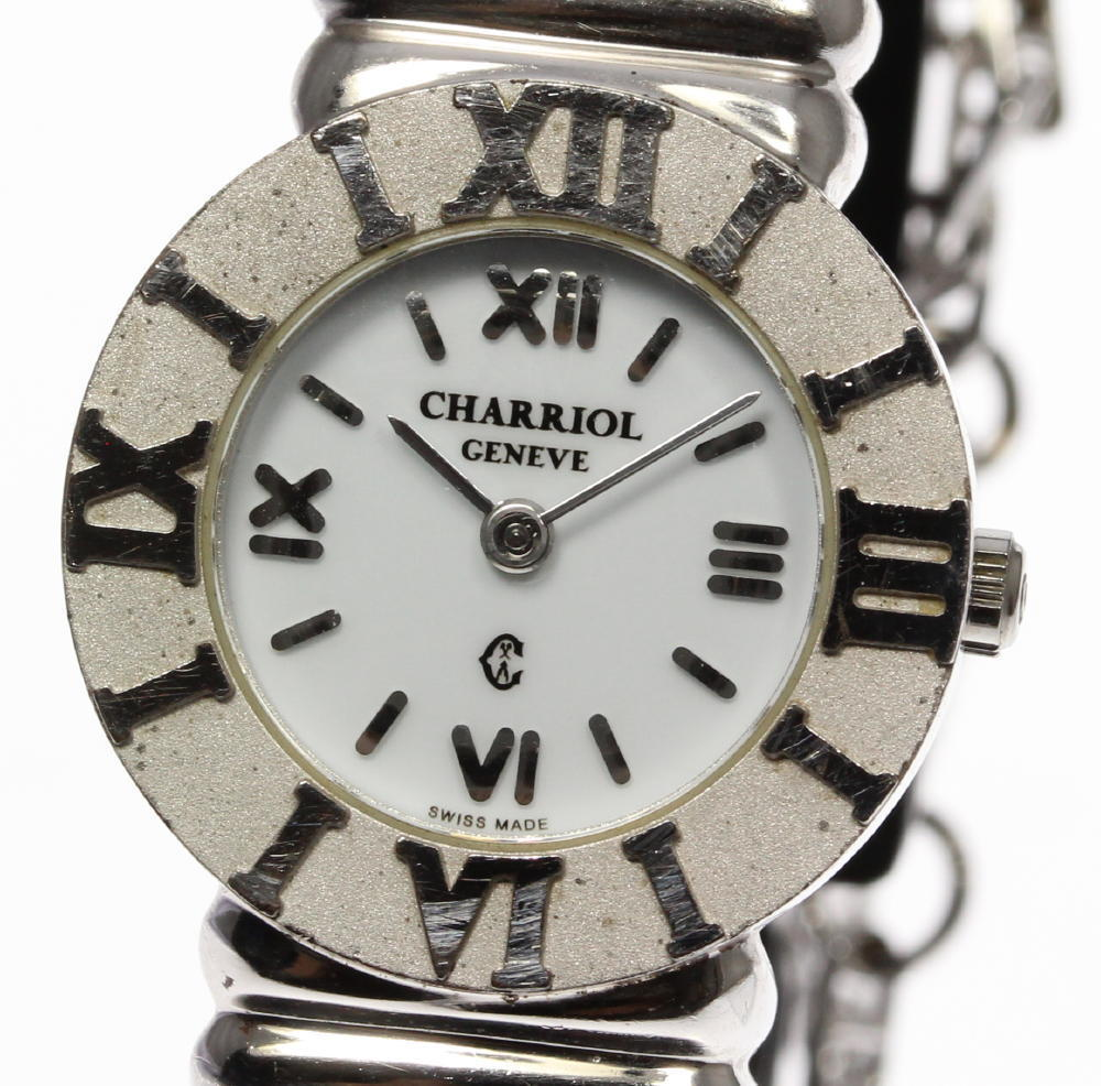 "Image of ""Philippe Charriol St. Tropez 925 Sterling Silver Stainless Steel"""