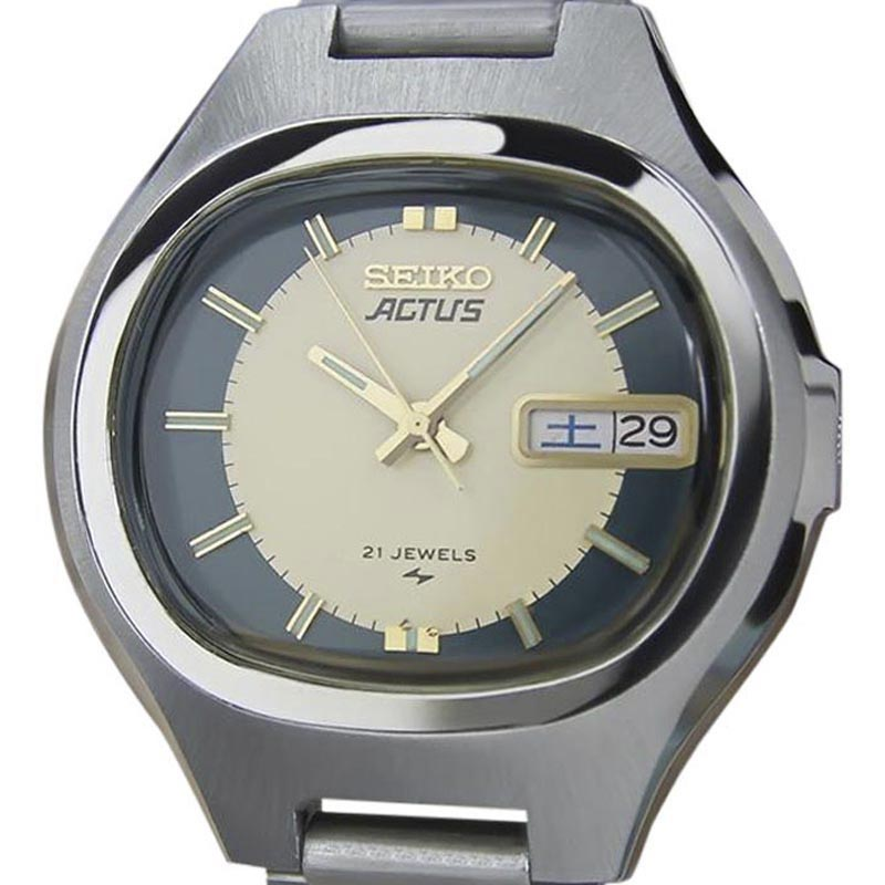 "Image of ""Seiko Actus Stainless Steel Automatic 36mm Mens Watch 1970"""