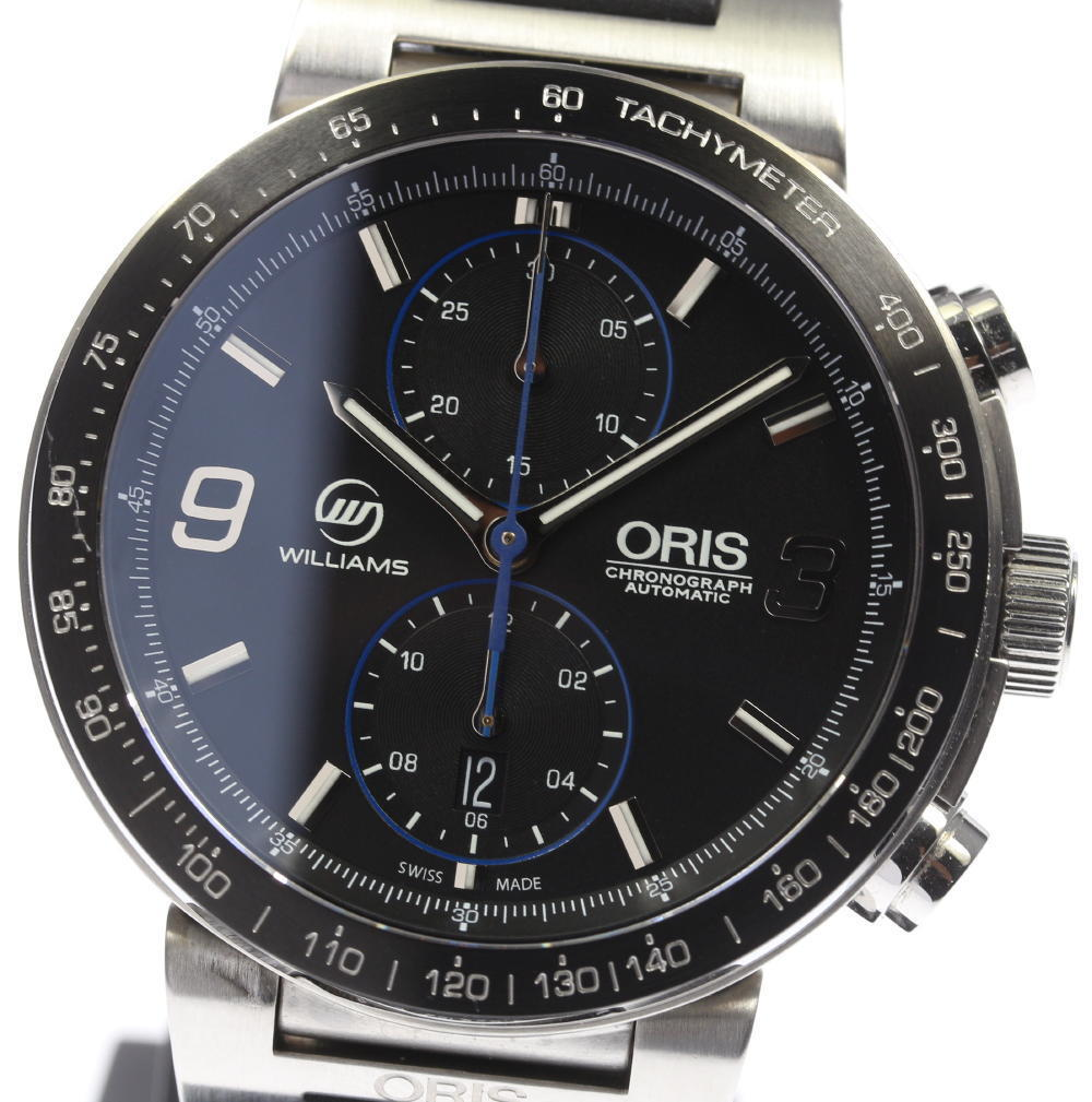 "Image of ""Oris Williams F1 773.7685.4184R Stainless Steel 45mm Mens Watch"""