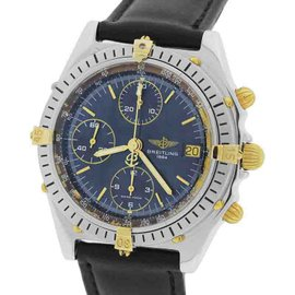 Breitling Chronomat B13047 / 81.950 Two-Tone 18K Yellow Gold / Stainless Steel Automatic 40.5mm Mens Watch