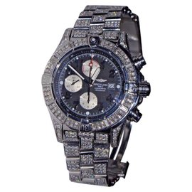 Breitling Super Avenger Stainless Steel with Diamond 48mm Mens Watch