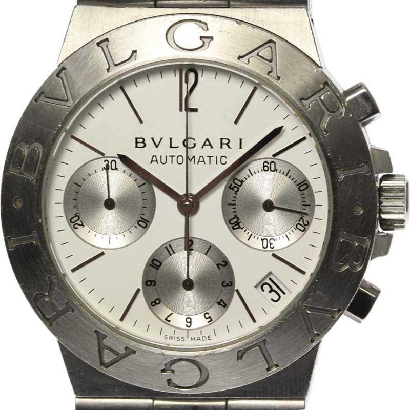 """Image of """"Bulgari Ch35S Stainless Steel Automatic 35mm Mens Watch"""""""