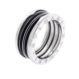 Bulgari B.zero1 18K White gold Ring Size 9.75