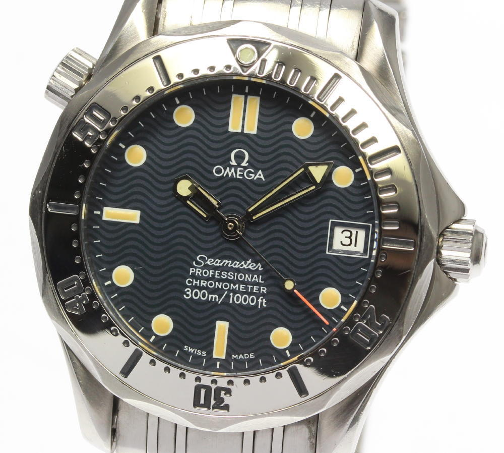 """Image of """"Omega Seamaster 2552.80 Stainless Steel Automatic 36mm Mens Watch"""""""