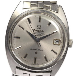 Omega Constellation Stainless Steel Automatic 34mm Vintage Mens Watch