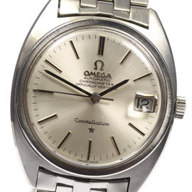 Omega Constellation Automatic Stainless Steel 34mm Mens Watch
