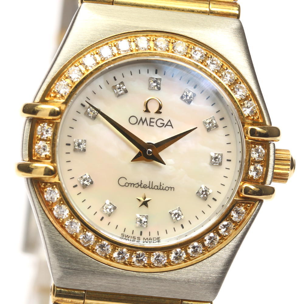 """Image of """"Omega Constellation 1267.75 Stainless Steel and 18K Yellow Gold Mother"""""""