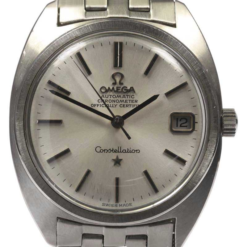 "Image of ""Omega Constellation Chronometer Stainless Steel Automatic 34.5 mm Mens"""