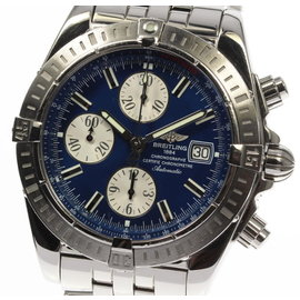 Breitling Chronomat Evolution A13356 Stainless Steel Automatic 44mm Mens Watch