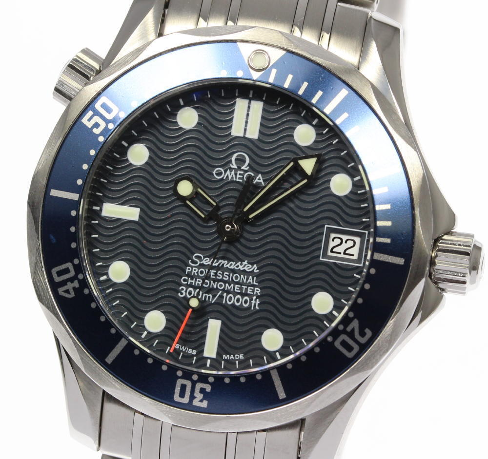 """Image of """"Omega Seamaster Professional 300 2551.80 Stainless Steel Automatic"""""""