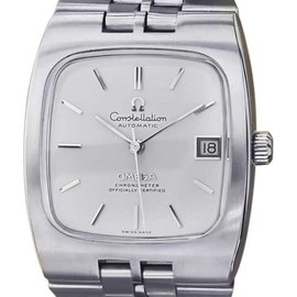 Omega Constellation Stainless Steel Automatic Rare Vintage Mens Watch 1960s