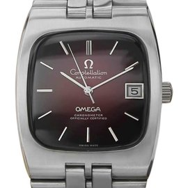 Omega Constellation Automatic Stainless Steel Vintage Mens Watch 1960