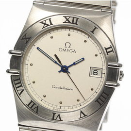 Omega Constellation Stainless Steel Quartz 33mm Mens Watch
