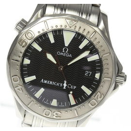 Omega Seamaster 2533.50 Stainless Steel / White Gold Automatic 41mm Mens Watch