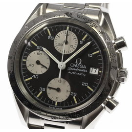 Omega Speedmaster 3511.50 Date Chronograph Stainless Steel 39mm Automatic Mens Watch