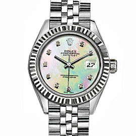 Rolex Datejust Stainless Steel with MOPDial 36mm Mens Watch