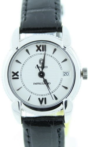 """Image of """"Concord Impresario Stainless Steel Womens Watch"""""""