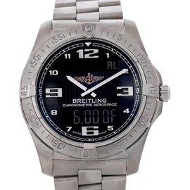 Breitling E79362 Professional Aerospace Avantage Titanium Quartz Watch