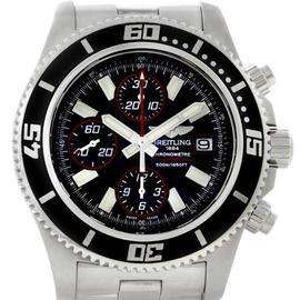 Breitling A13341 Aeromarine SuperOcean Mens Chronograph Watch