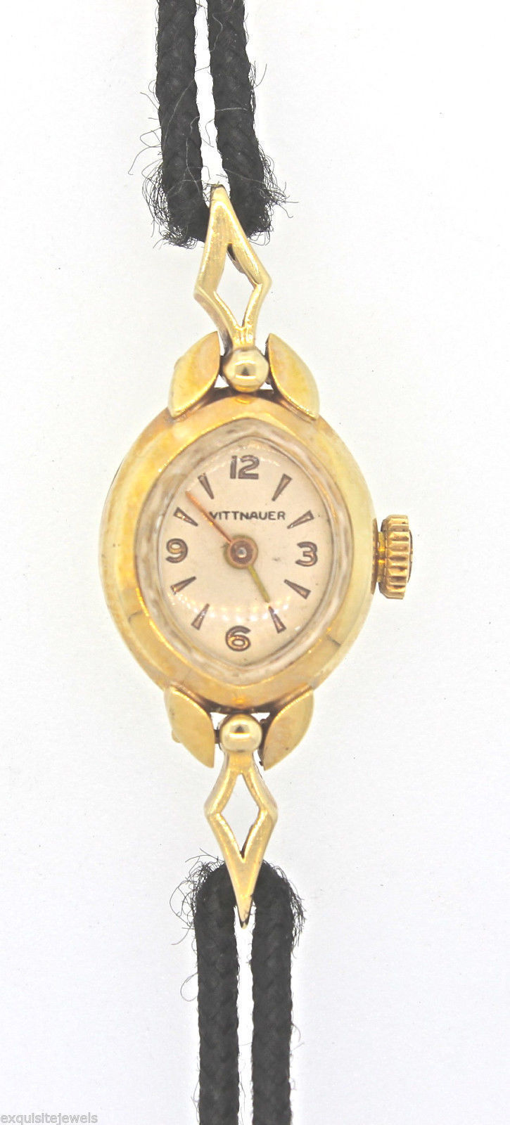 "Image of ""Wittnauer Solid 14K Yellow Gold Gemex Vintage Watch"""