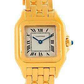 Cartier W25022B9 Panthere 18k Yellow Gold Quartz Ladies Watch