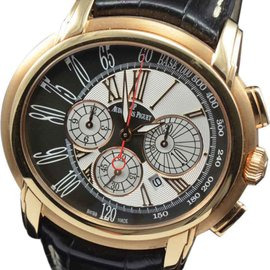 Audemars Piguet 26145OR Millenary Chronograph 18K Rose Gold Mens Watch
