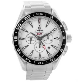 Omega 231.10.44.52.04.001 Seamaster Aqua Terra Crono GMT Watch