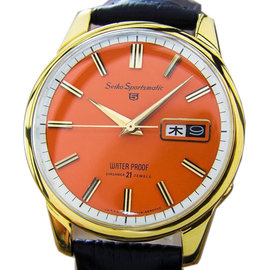 Seiko Sportsmatic L182 5 Automatic Japanese Mens Watch 1960s