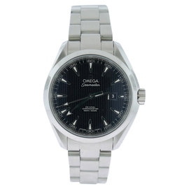 Omega AquaTerra 231.10.34.20.01.001 Stainless Black Dial Womens Watch