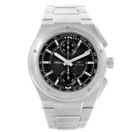 IWC Ingenieur IW372501 Automatic Chronograph Black Dial Mens Watch