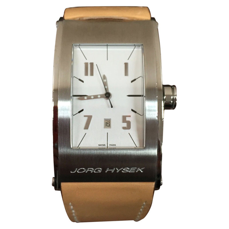 "Image of ""Jorg Hysek Stainless Steel Automatic Watch"""