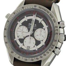 Omega Speedmaster Broad Arrow Rattrapante Watch