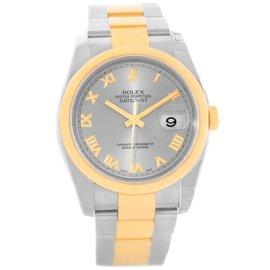 Rolex Datejust 116203 Steel 18K Yellow Gold Watch